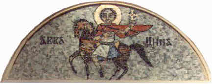 The Great Martyr St. Mina the Wonder-worker